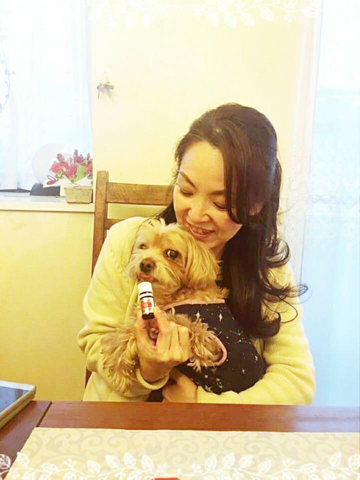 愛犬とアロマ